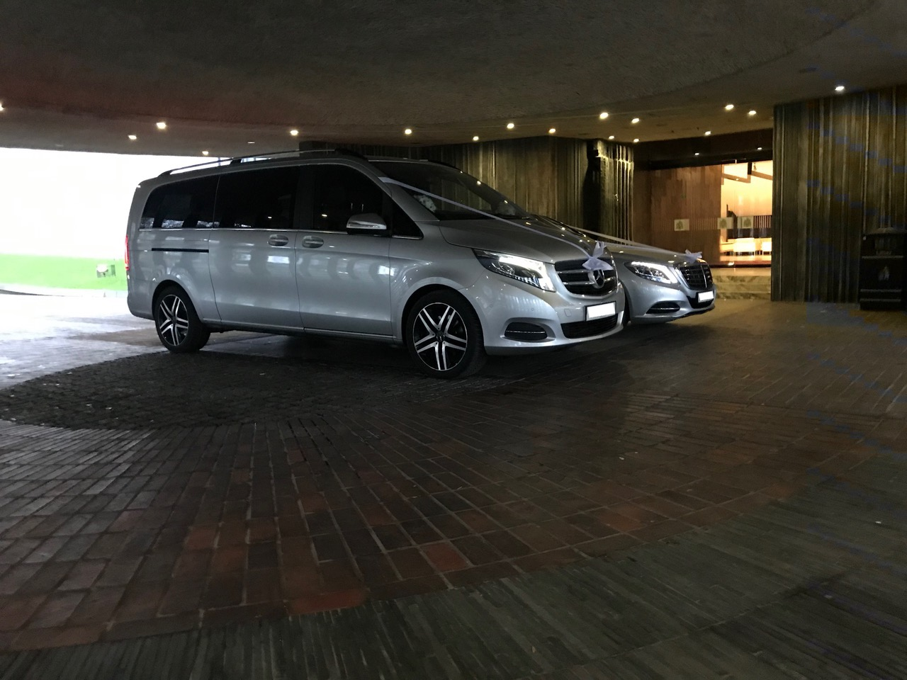 Mercedes V Class and S Class