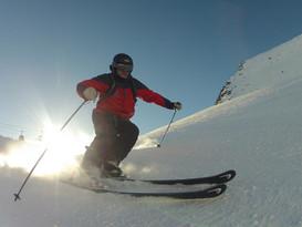 ski-emg-Ski technique training