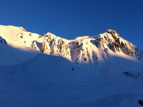 Early bird on the Arlberg