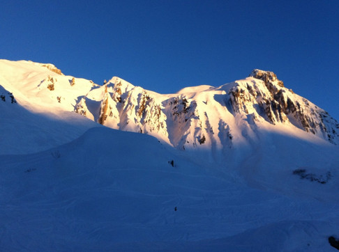 Early bird on the Arlberg