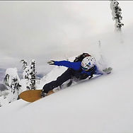 EMG snowboarding in powder
