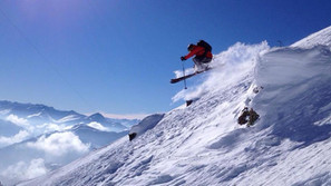 ski-emg-ski jump skischool Tannberg Lech - Exclusive Mountain Guiding Arlberg