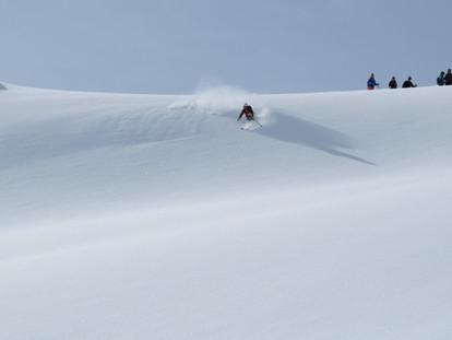 Ski-emg-first tracks off piste skiing