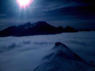 Ski-emg- Balmalpe just above the clouds