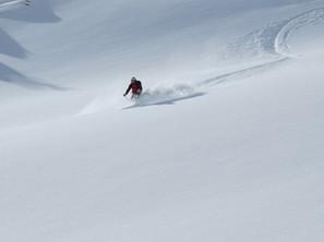 ski-emg-Powder skiing