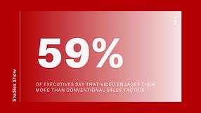 59% of Executives Prefer Video