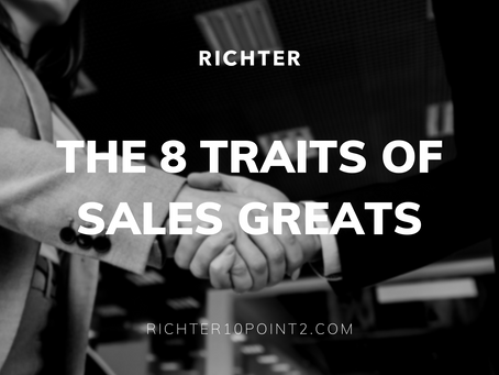 The 8 Traits of Sales Greats
