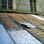 Lead Roof Theft - Emergency Roof Repairs Birmingham Absolute Roofcare