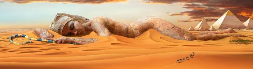 Sleepng Egyptian