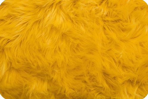 Luxury shag fur Yellow