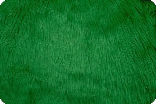 Luxury shag fur Emerald