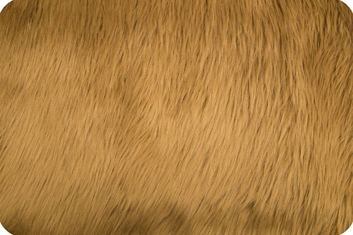 Luxury shag fur Caramel