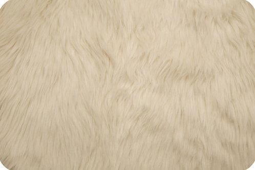 Luxury Shag fur Ivory