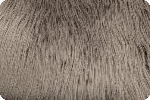 Luxury shag fur Oyster
