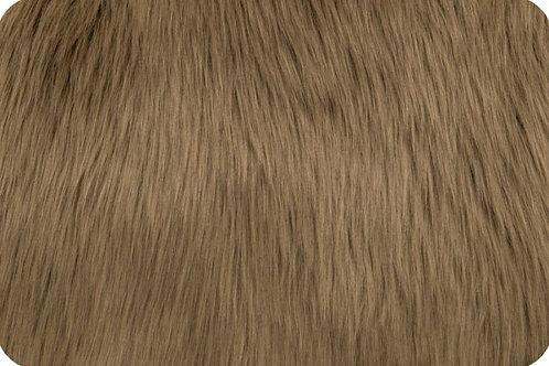 Luxury shag fur cocoa