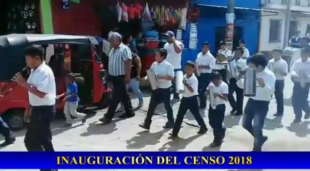 Desfile de Inauguración del Censo 2018.
