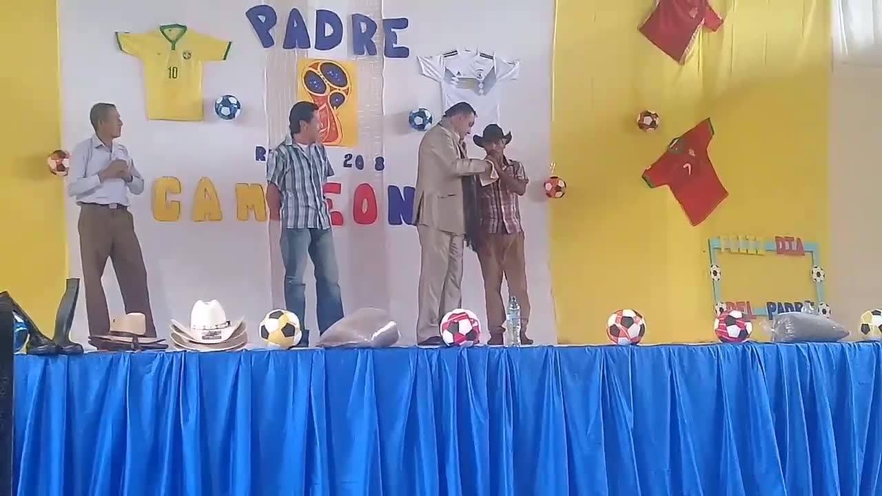 Grandes talentos en la Celebración del Día del Padre gracias a la Administración 2016-2020.