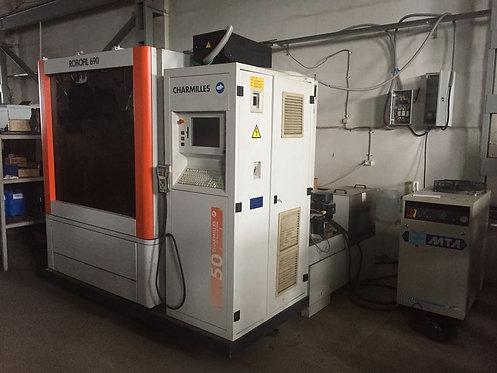 ROBOFIL 690 с ЧПУ Charmilles электроэрозионный проволочно-вырезной станок