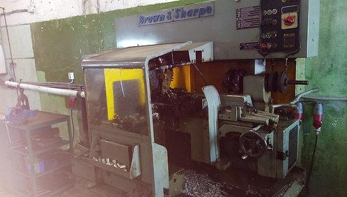 Brown & Sharpe токарный прутковый автомат