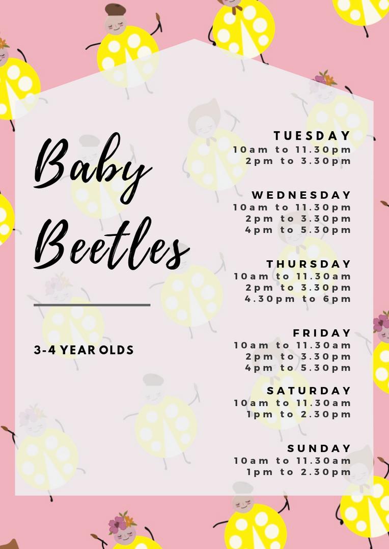 Baby Beetles Class