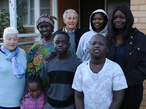 Ararat welcomes first refugee family