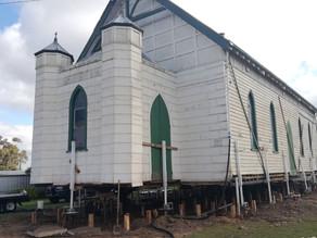 Willaura Church rises to the heavens