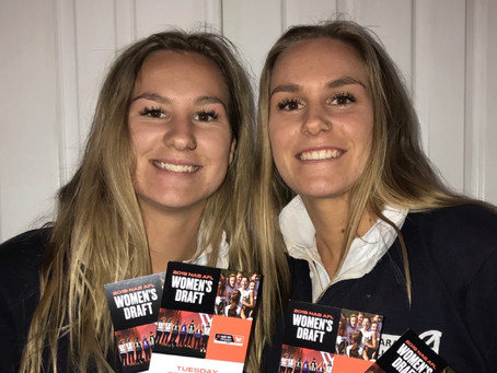 Wood twins to miss final day of schooling for AFLW Draft