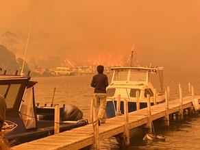 Aussie girl's harrowing escape from raging bushfire