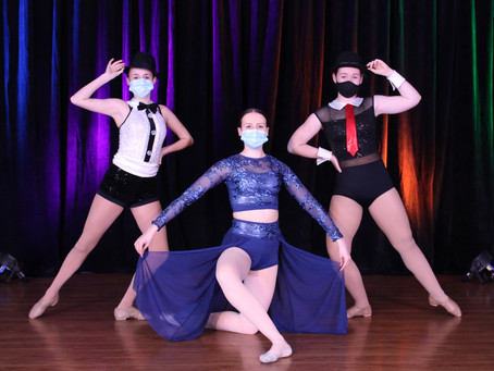 Dancers chassé back to the studio