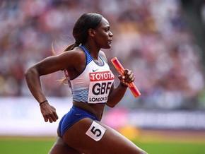 Sprinters shine overseas