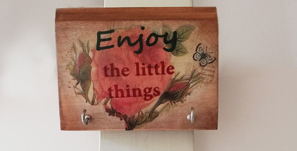 Little Things Wooden Hanger