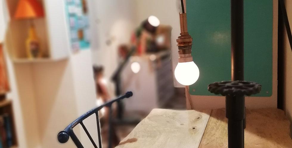 GI Pipe Table Lamp