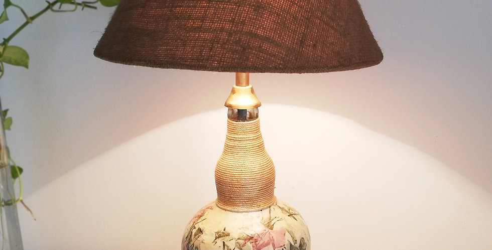 Potpourri Glass Bottle Lamp (Mixed)
