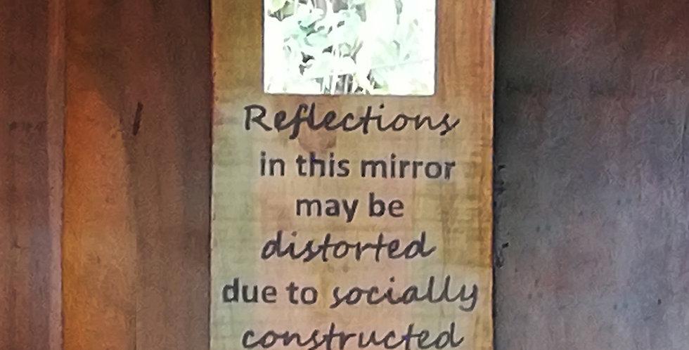 Reflection Mirror Hanger