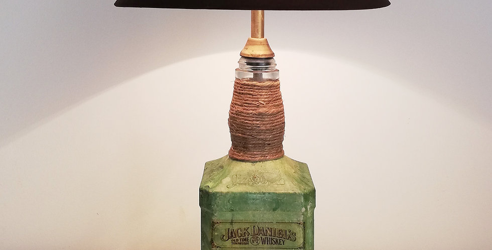JD Glass Bottle Lamp