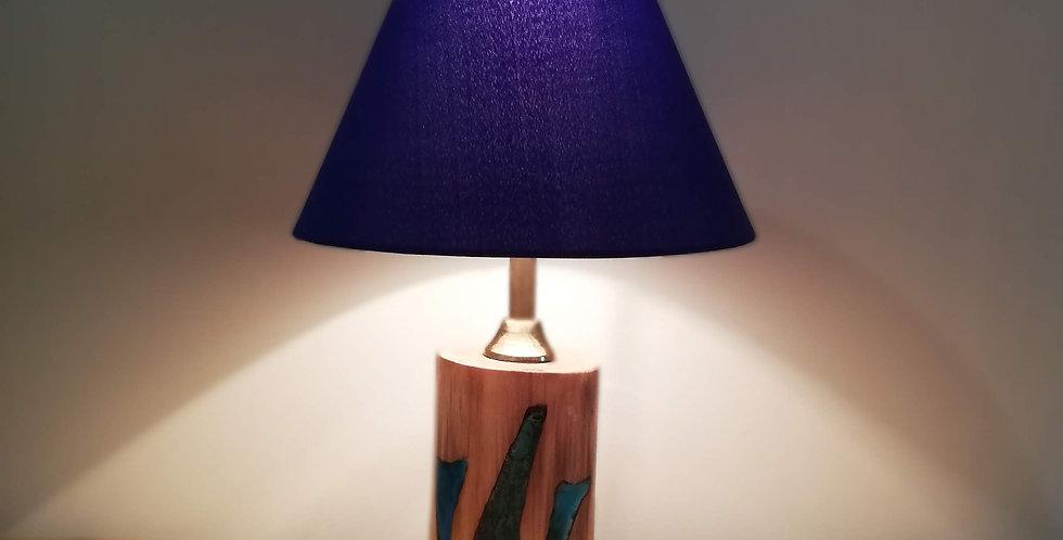 Tree Trunk & Resin Lamp