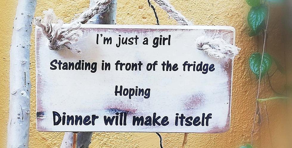 Fun Message Hanger 20