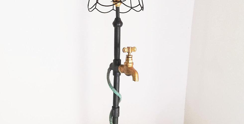 GI Pipe Lamp Grunge