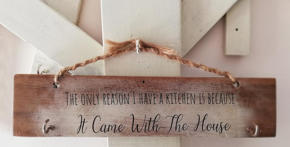 Kitchen Woes Wooden Hanger