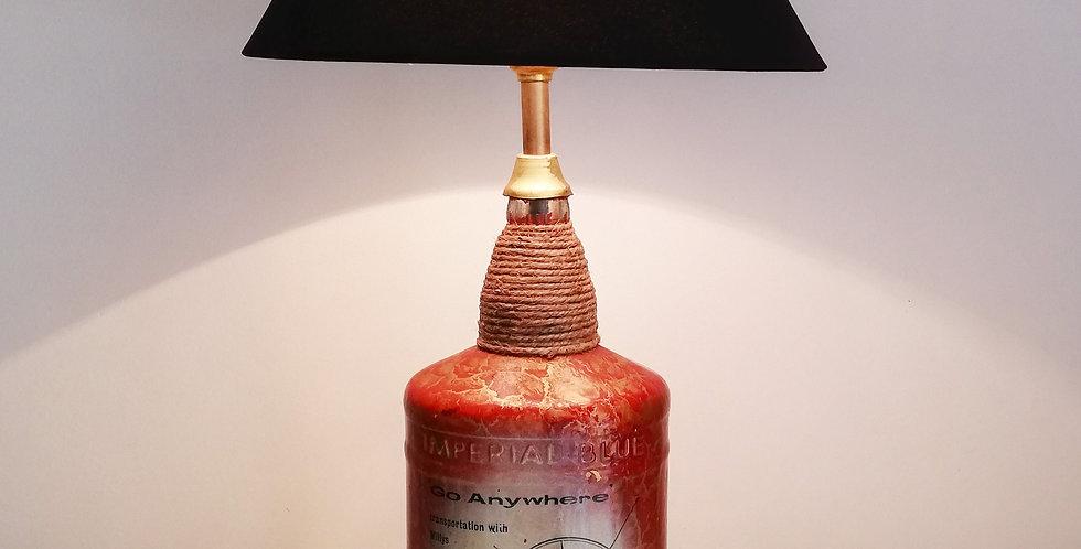 Mahindra Glass Bottle Lamp