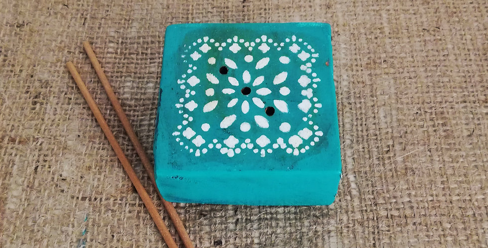 Light Blue Incense Stick Stand