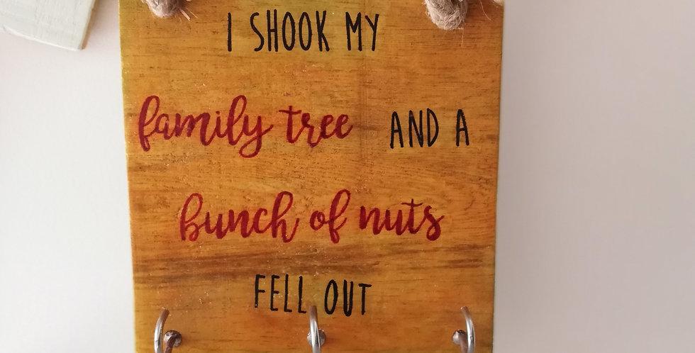 Family Tree Wooden Hanger