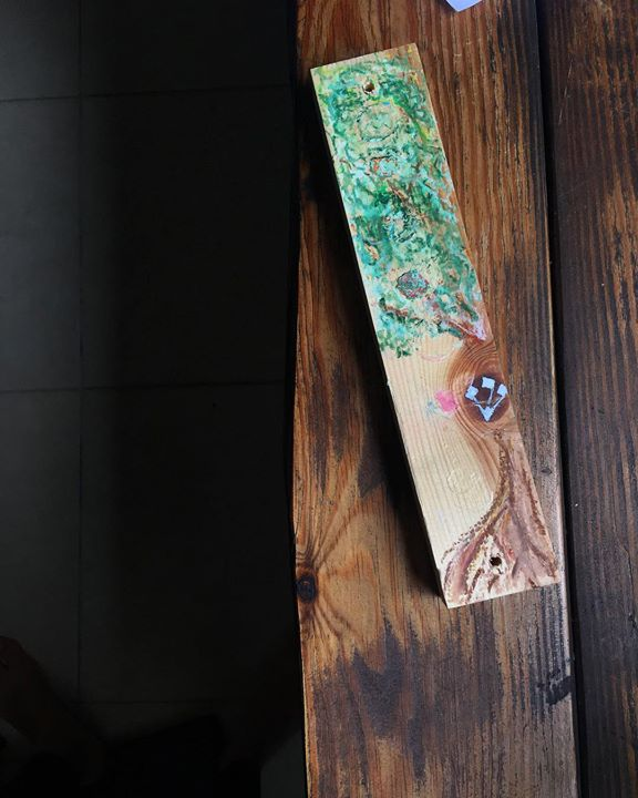Upcycled Mezuzah
