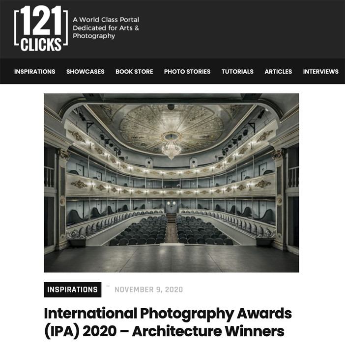 IPA 2020 architecture winners published on 121clicks.com