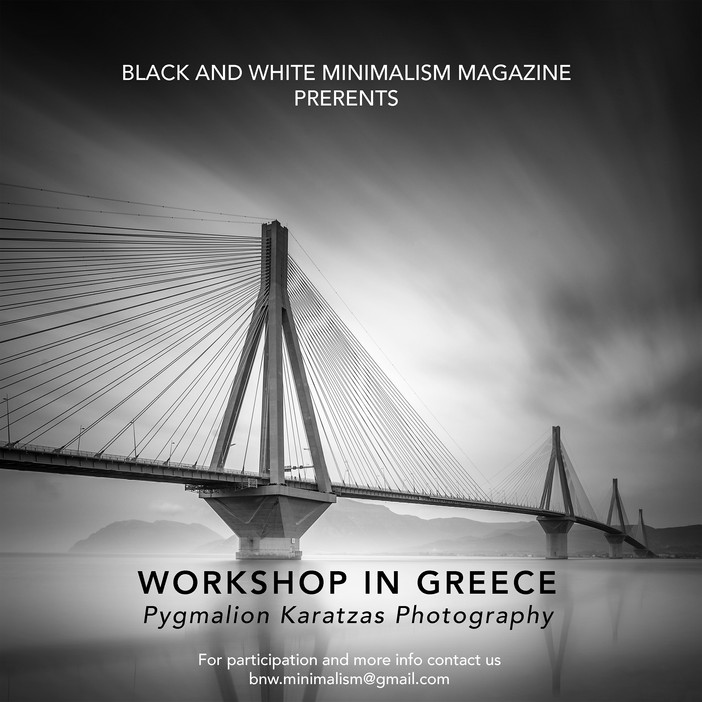Photography workshops in Greece in collaboration with B&W Minimalism Magazine