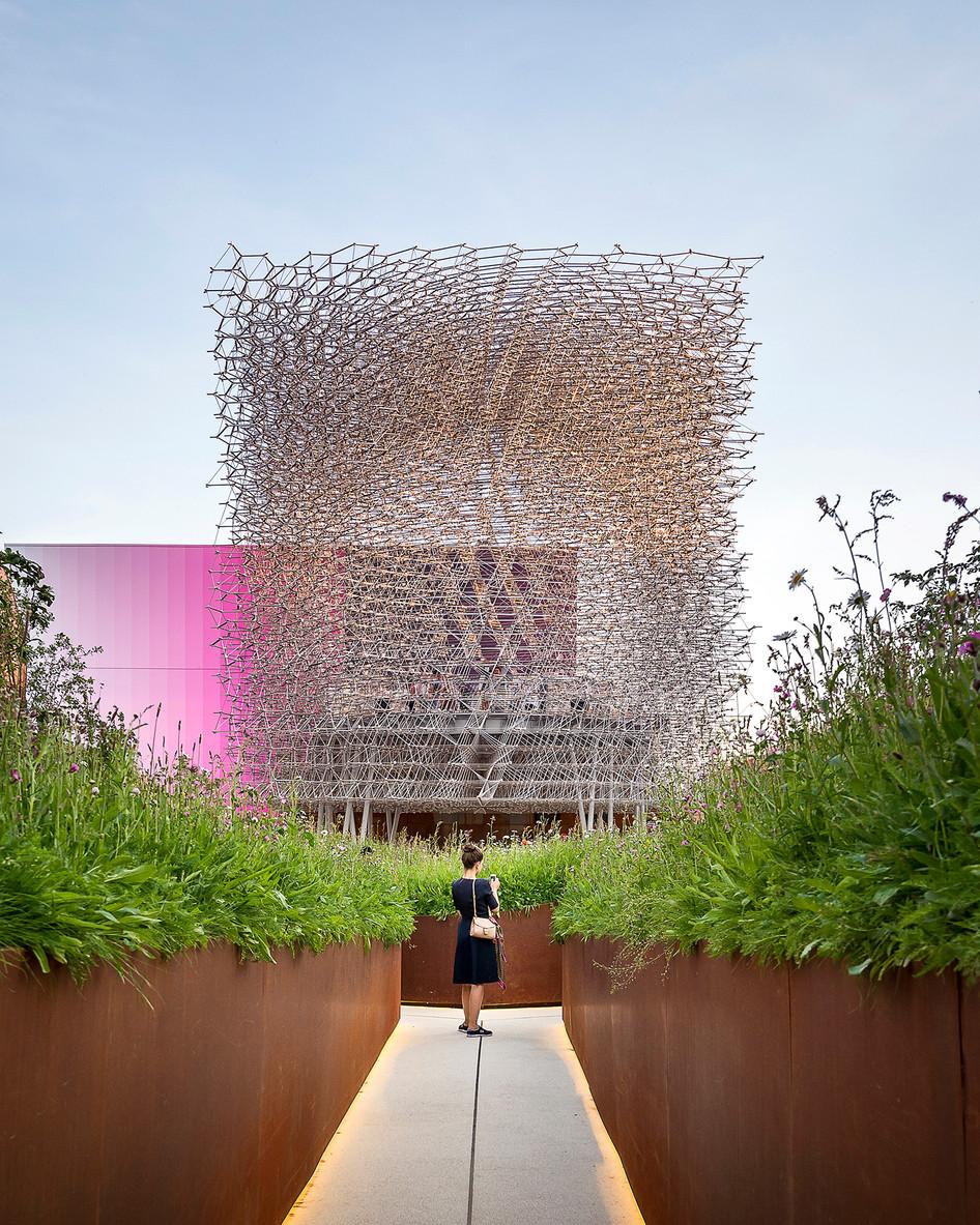 Project update - United Kingdom Pavilion