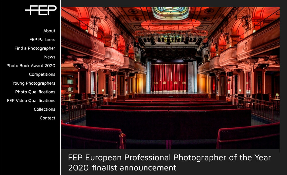Finalist at the FEP European Professional Photographer of the Year Awards 2020
