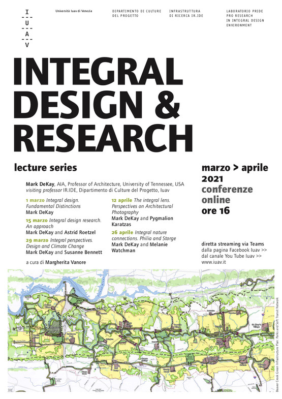 Integral Design & Research lecture series at IUAV University of Venice