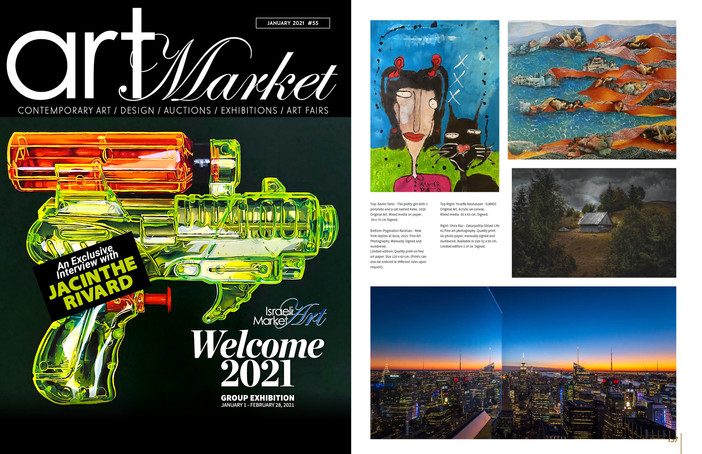 A feature on Art Market Magazine, Issue January 2021