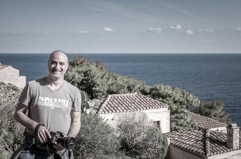 Photographing in Monemvasia
